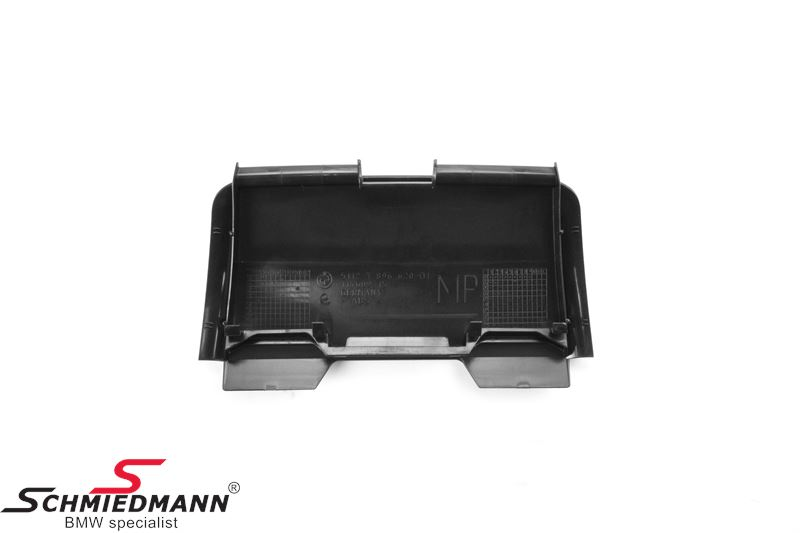 Cover primed for org. BMW towing hitch detachable for M-Technic bumper