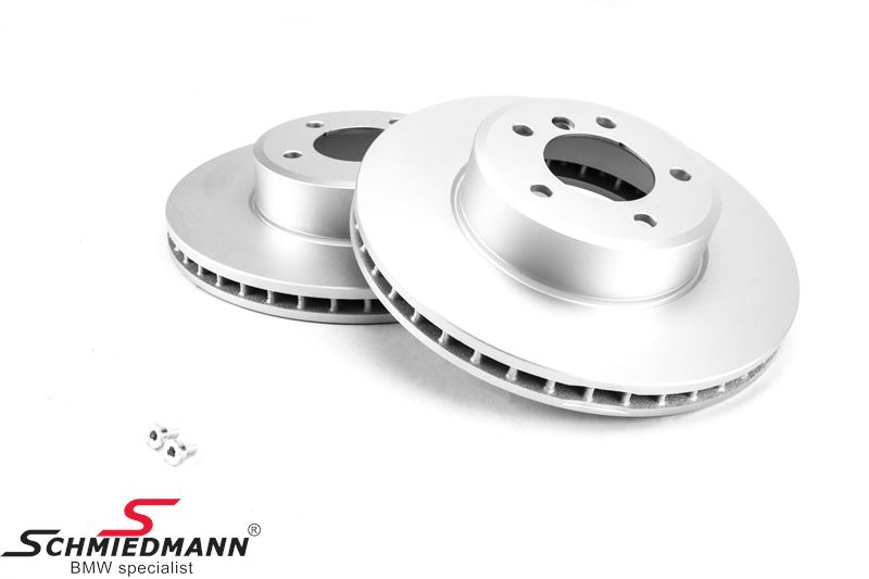Brake disk front 324X30MM - ventilated, original Hella-Pagid Germany, coated version