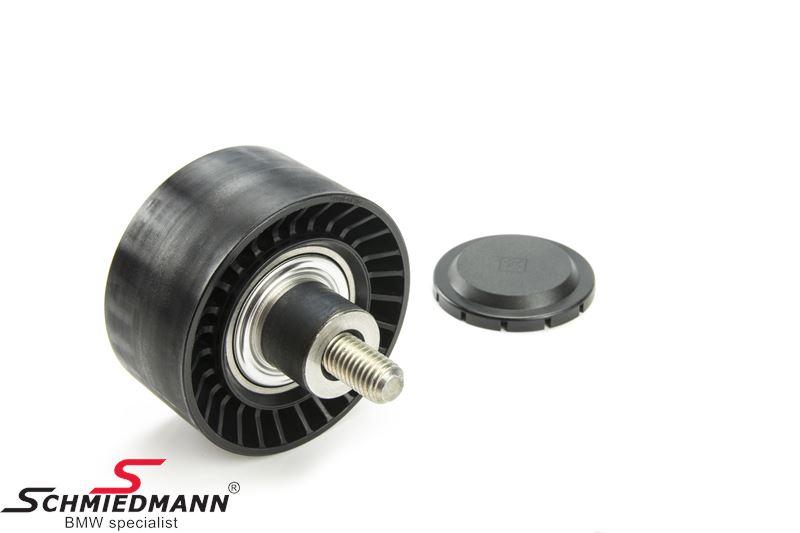Deflection pulley alternator/aircon/power steering belt - original SWAG Germany