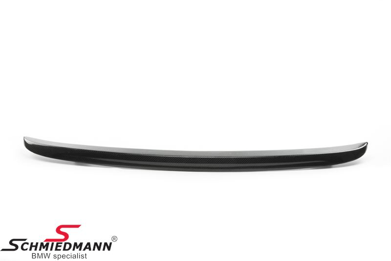 Rear spoiler EVO race look genuine carbon -DEMO- (scratched)