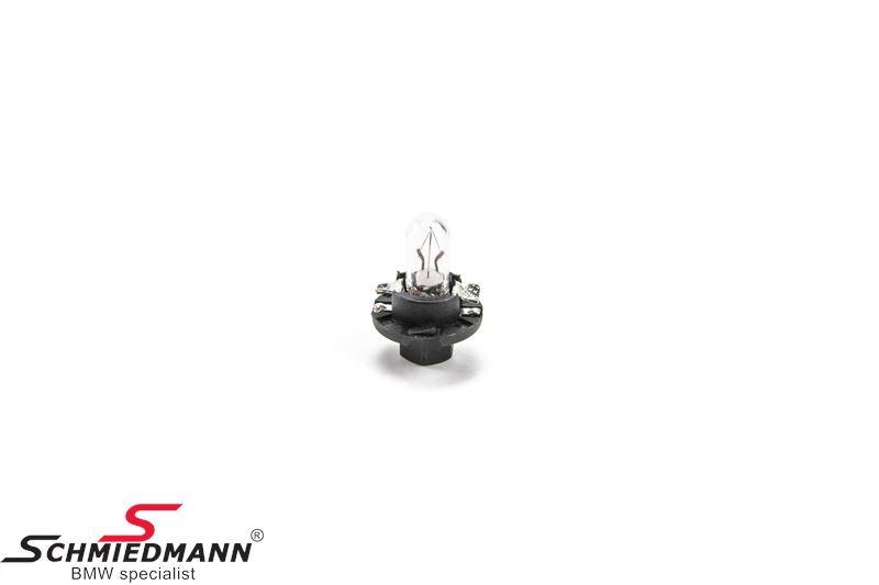 Bulb for cockpit lighting 12v 1,2W