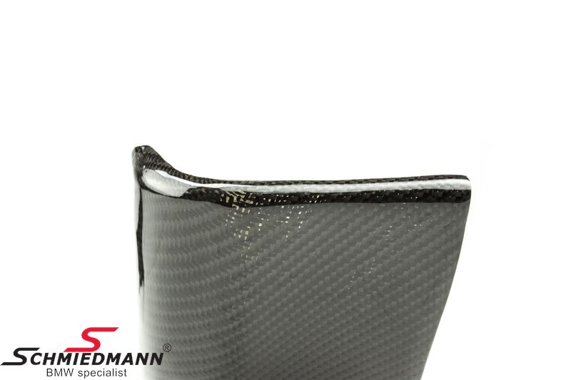 -DEMO- Frontspoiler lip set genuine carbon (Note: The product has scratches)
