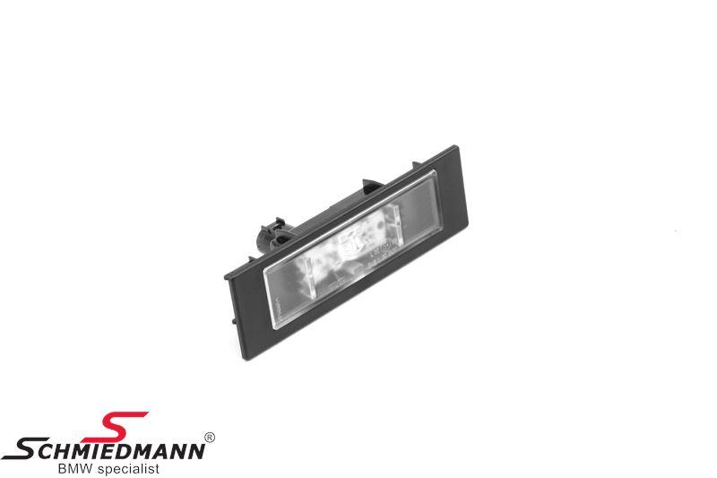 Kennzeichenbeleuchtung LED passend links + rechts