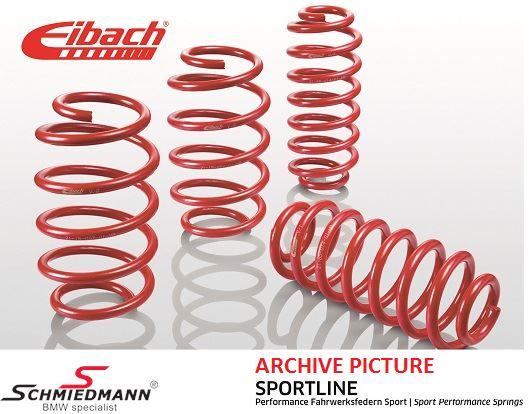 Eibach -Sportline- sænkningssæt for/bag 45-50/30MM