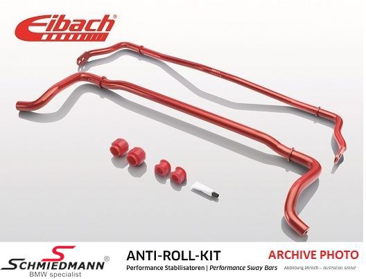 Eibach undercarrige reinforced stabilizer kit, front 27MM/rear 21MM