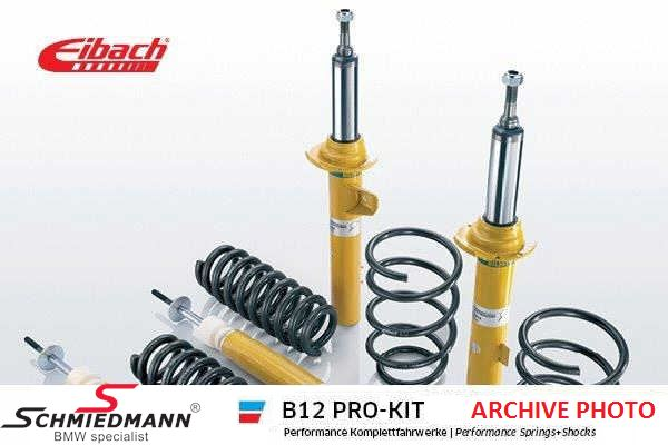 Eibach -B12 Pro-kit- damptronic sportsundervogn for/bag 20/15MM
