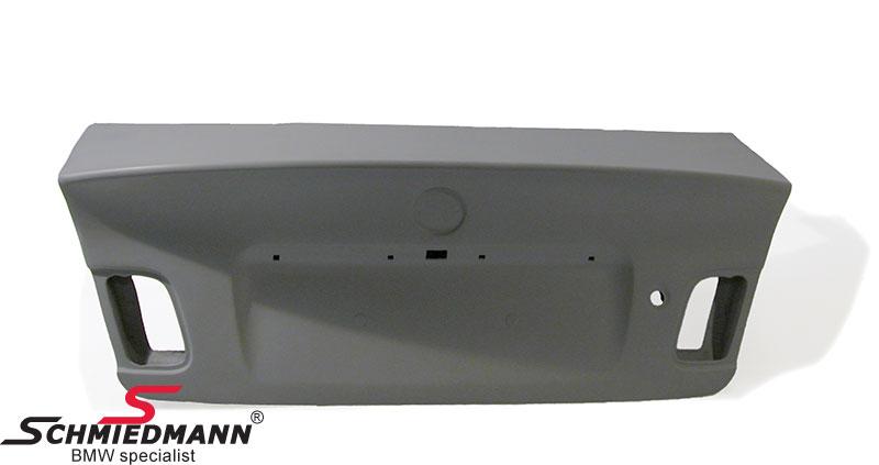Bagklap EVO med indbygget hækvinge (komposit materiale)