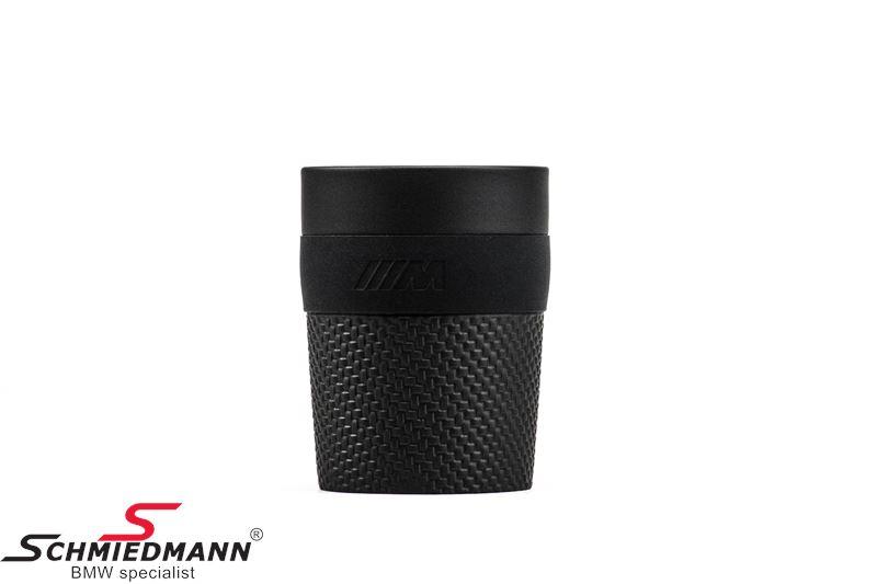 Coffee cup -BMW ///M- black 300ml.