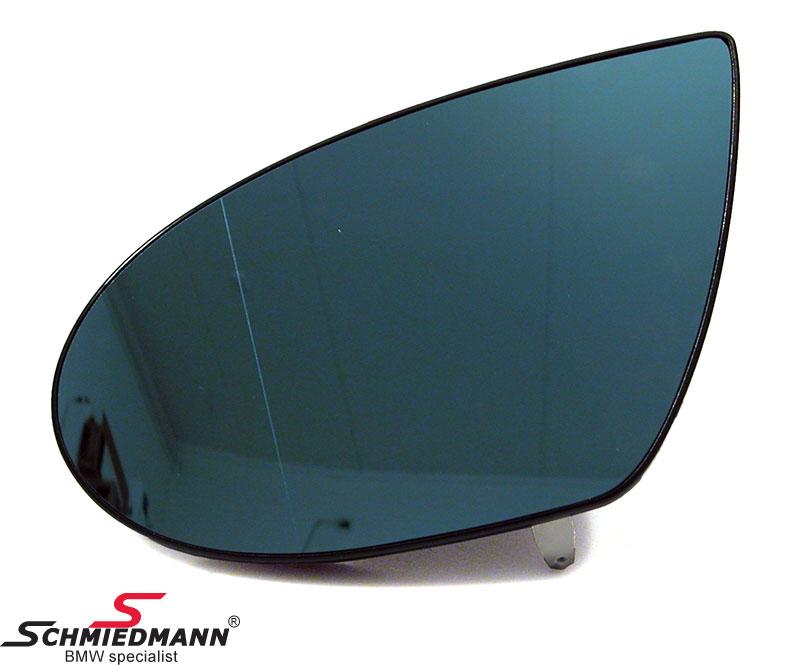 Seitenspiegelglas beheizt/getönt, beheizbar links