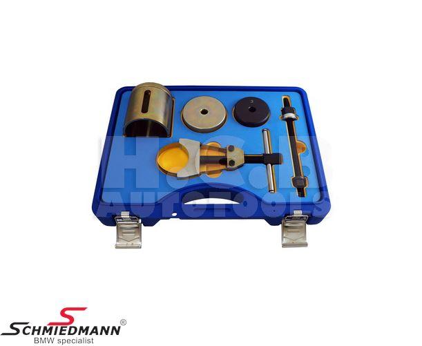 Bærearms-bøsnings aftræk/isætnings-værktøj (Arbejdet kan udføres direkte på bilen)