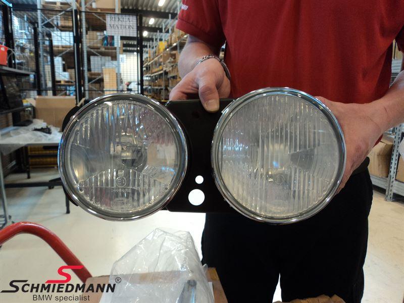 Twin headlight high/low beam L.-side, original BMW
