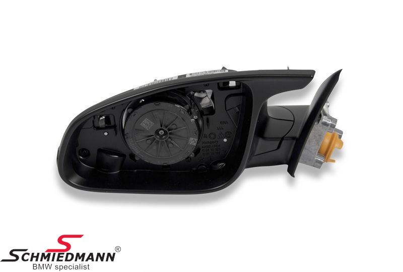 Side mirror ///M-Tech heated/electrically adjustable L.-side (mirror glass and cover is not included)