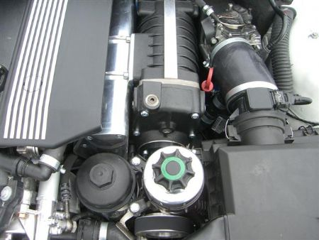 ESS supercharger system (more power for the ultimate driving machine)
