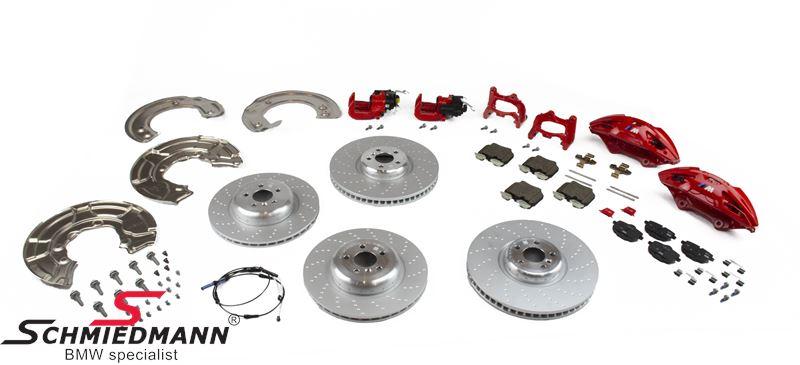 BMW ///M-Performance sportsbremser eftermonteringssæt  for+bag - original BMW