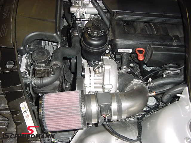 ESS114-51  ESS supercharger system (more power for the ultimate driving machine)