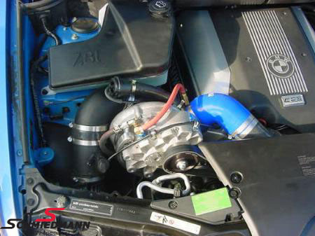 ESS108-43L  ESS supercharger system (more power for the ultimate driving machine)