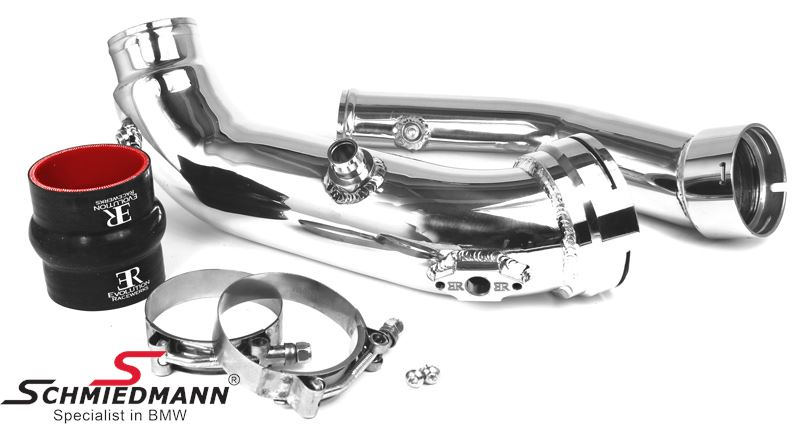 Burger Motorsport N55 aluminium high flow indsugnings-rør