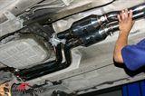 SCM5254 BMW E46 -  Schmiedmann hög flödes Sport grenrör M52/M54 inklusive sport katalysatorer