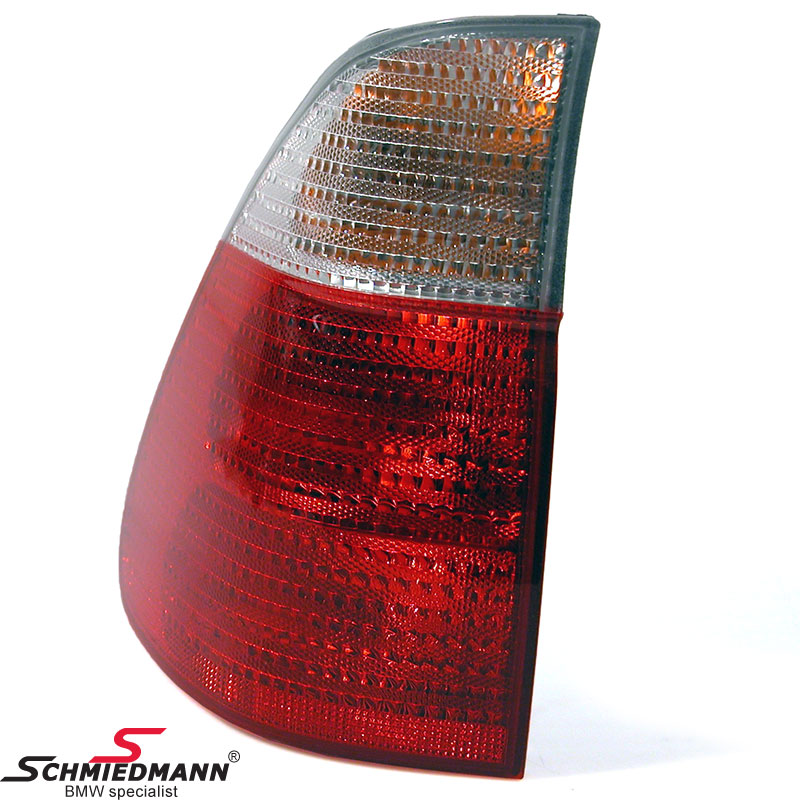BMW 63217158389 / 63-21-7-158-389  Taillight with white indicator outer part L.-side original BMW