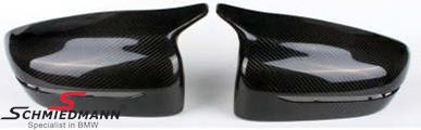Sidemirror cover set -EVO- set R.+L.-side carbon (replacement type - not only covers)