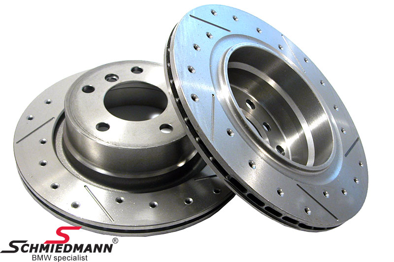 Racing brake discs rear ventilated Ø294X19MM