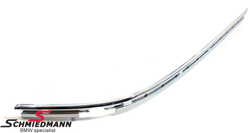 Chrome moulding for the rearbumper guard R.-side