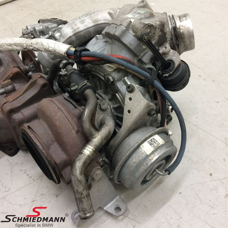 535D N57Z 313Hp Turbo charger set 2pcs (145 000 Km) 11658510942 11 65 8 510  942