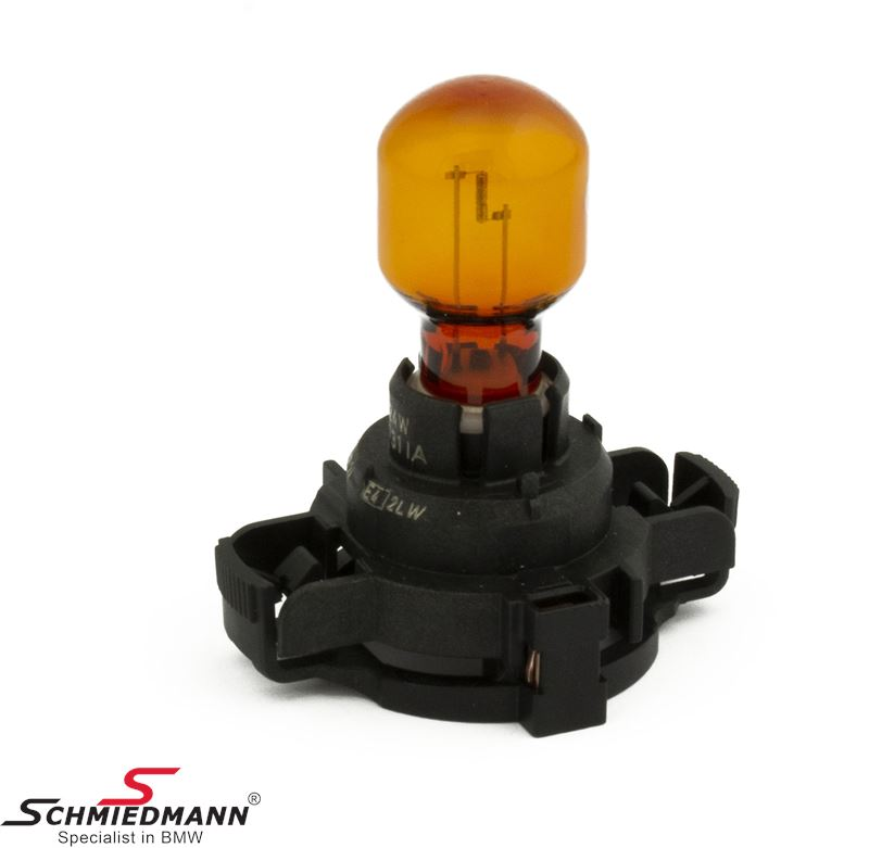 Bulb yellow 12V 24W