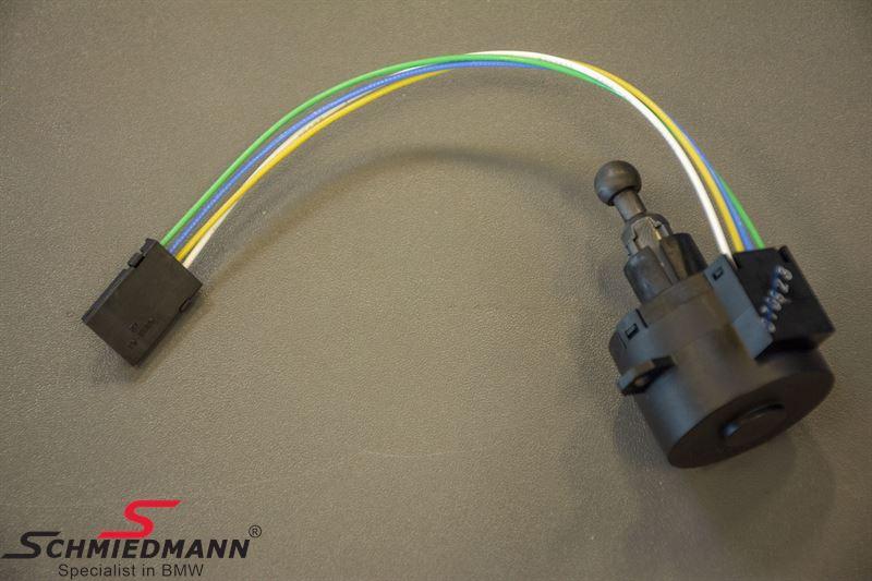 Headlight adjustment motor - for the lightwidth regulation