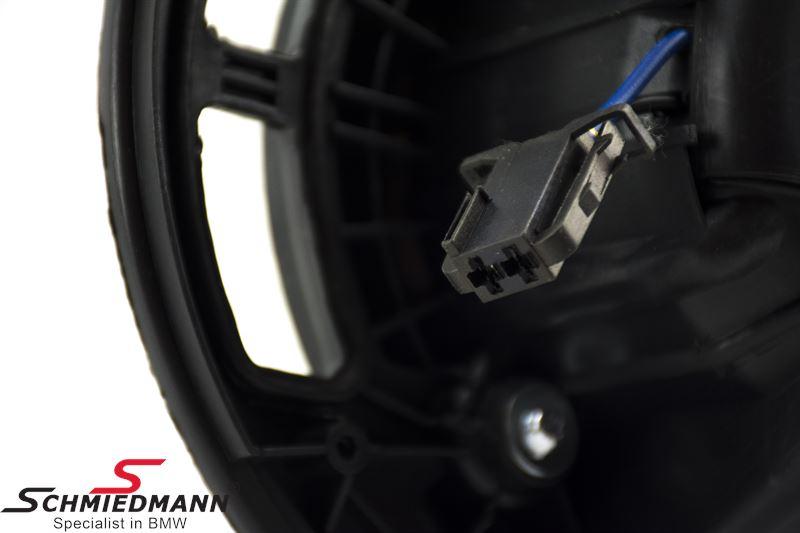 Blæsermotor, bemærk modstanden medfølger ikke, den skal tilkøbes separat hvis den skal bruges