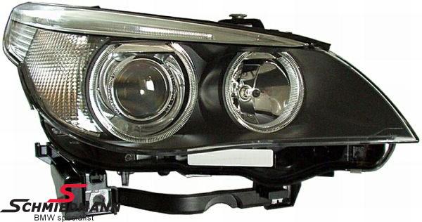 63127165572H  Headlight R.-side complete with bi-xenon with adaptive light Hella (original)
