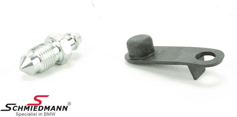 Udluftnings-ventil kaliper for