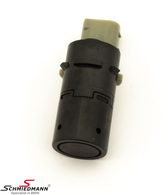 PDC sensor front/rear (park distance control) (Please note: unpainted black - but is suitable for painting)
