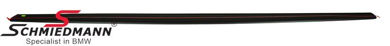 Sideskirt extension -M-Performance- for M-Technic or M-aerodynamic sideskirts mate black R.-side