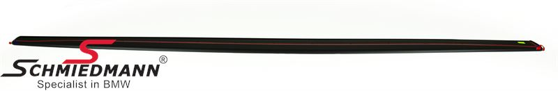 Sideskirt extension -M-Performance- for M-Technic or M-aerodynamic sideskirts mate black L.-side