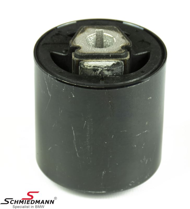 Rubber mounting rod