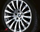 "BMW 36116788787 / 36-11-6-788-787  19"" BMW Radialspeiche 190 rim 9X19 (fits only rear) (original BMW)"