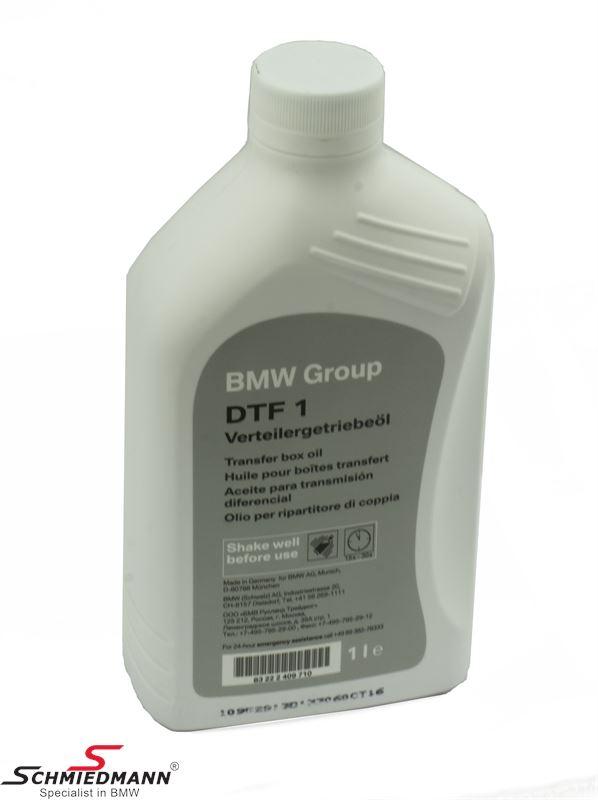 Převodový olej do rozvodovek DTF 1, originál BMW 1L balení