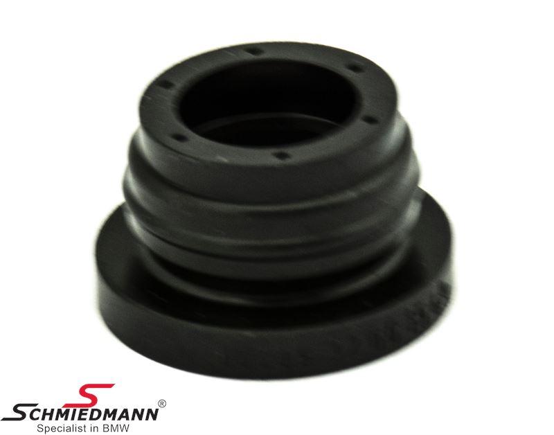 Plug for brake master cylinder