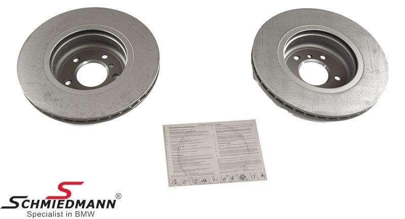 Jarrulevyt eteen 330X24MM - jäähdytetty, bi-metal versio, original -ZIMMERMANN- Germany