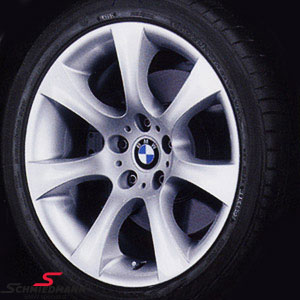 "18"" Sternspeiche 124 sølv fælge 8X18 (original BMW)"