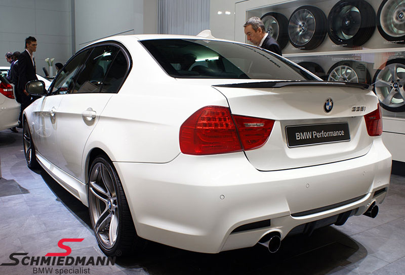 de099bbd0d3b BMW E90 - BMW original spoiler set - Schmiedmann - New parts