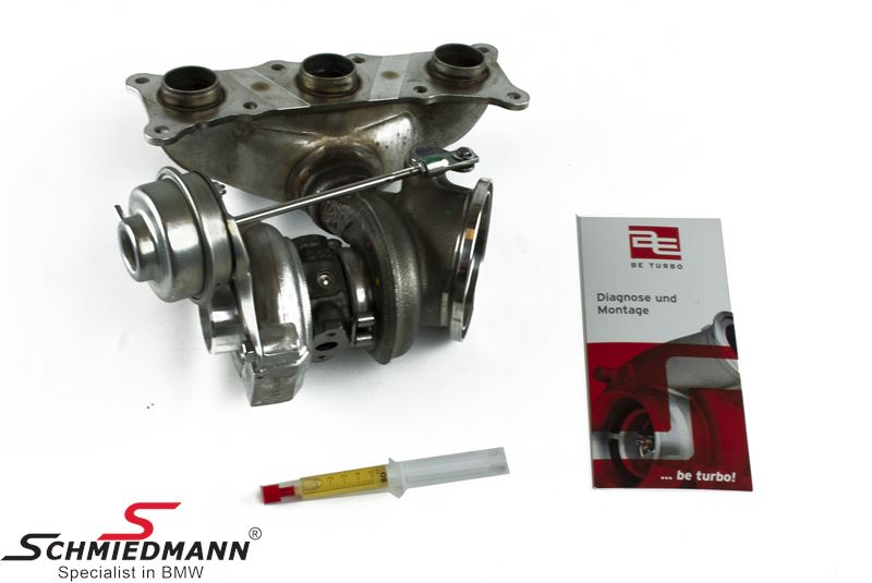 Turbo charger (the first), without gasket set must be bought separately