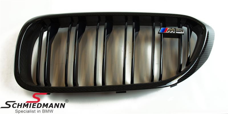 Kidney carbon original -BMW ///M-Performance- L.-side