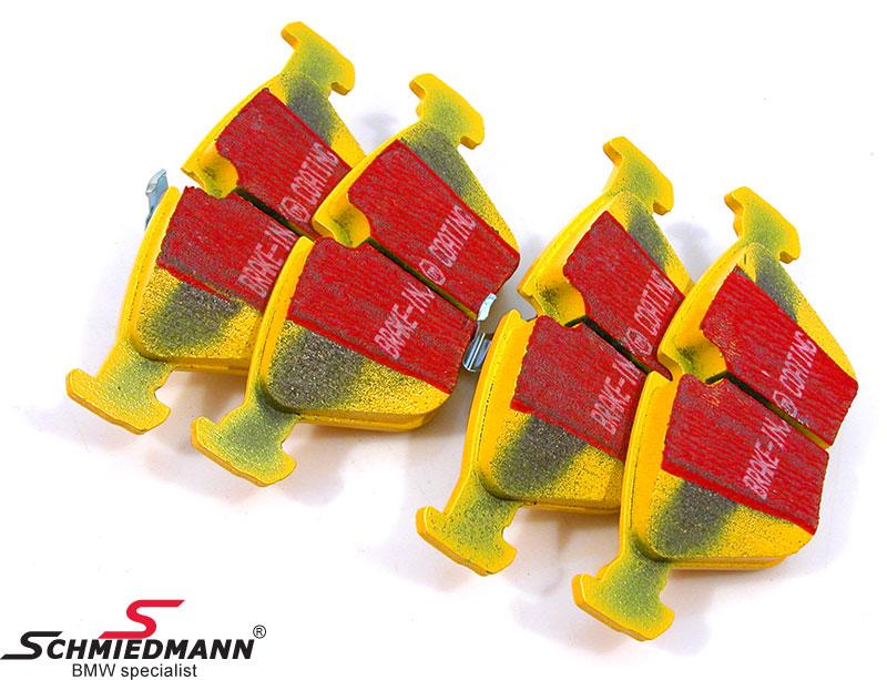 Racerbremseklodser for EBC yellow stuff  (til bane og ekstrem kørsel)