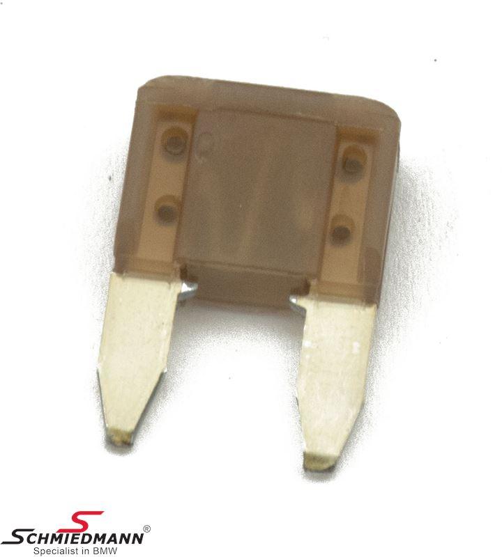 Sikring mini, gul-brun 5A