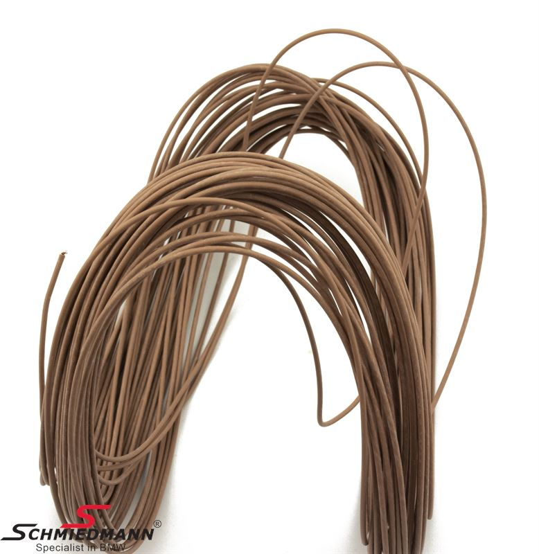 Wire brown 0,50MM²