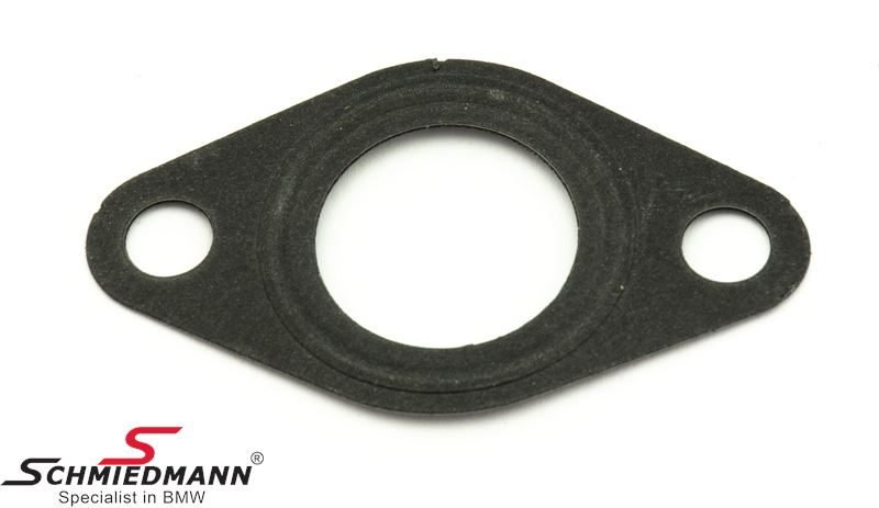 Steel-gasket for cover plate on cylinder head