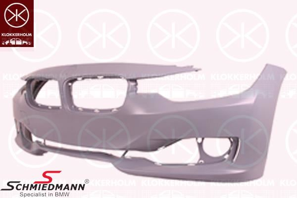 frontbumper shell (Without headlight washer, and with/without PDC, see details)