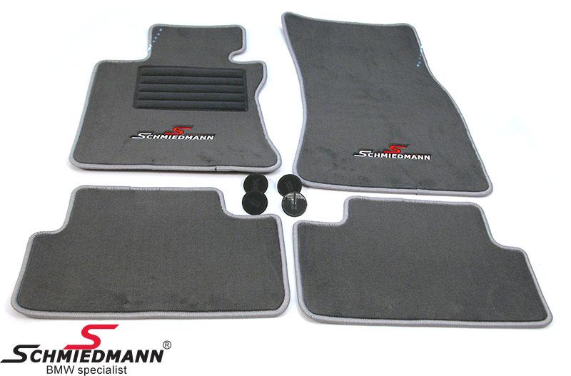 Lattiamatot eteen/taakse Schmiedmann alkuperäiset sport edition grey